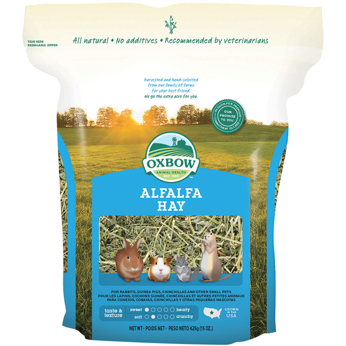Oxbow Alfalfa Hay Small Animal Food 15oz